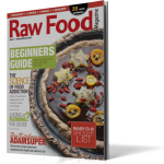 3D Jaunary Cover Raw Food Magazine