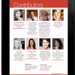 Regular contributors are featured at the very beginning of each issue of Raw Food Magazine.