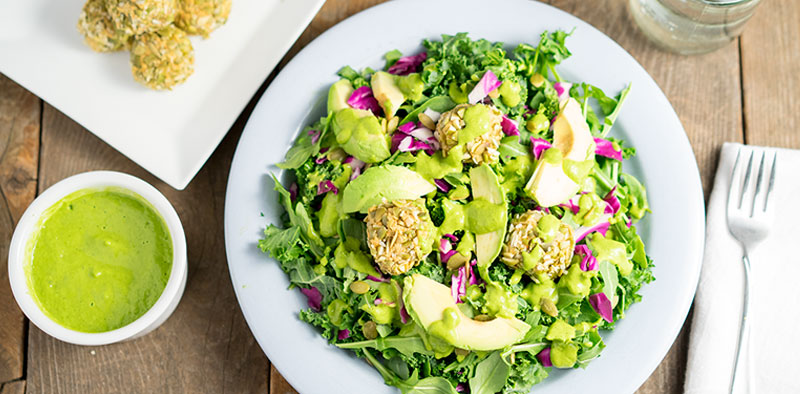 Dulse Bowl with Cilantro Dressing