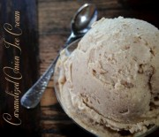 Raw Caramelized Onion Ice Cream