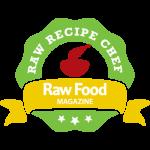 Raw Food Magazine Recipe contributor badge