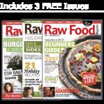 raw food magazine vegan recipe special