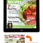 raw food magazine and raw food recipes