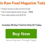 raw food magazine subscription