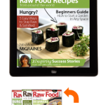 raw food magazine with raw food recipes and vegan recipes