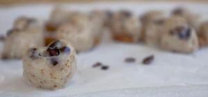 Almond Honeycomb Hearts