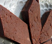 Chocolate Halvah Fudge Bars