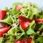 Strawberry Arugula Salad with Balsamic Vinaigrette