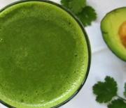 Tropical Cilantro Green Smoothie