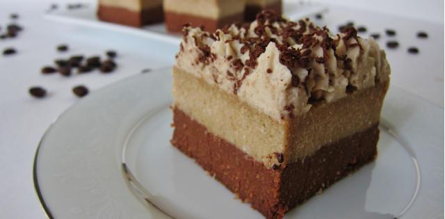 Raw Tiramisu Brownies