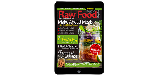 NEW ISSUE! Make-Ahead Meals & Naturally Calming Anxiety