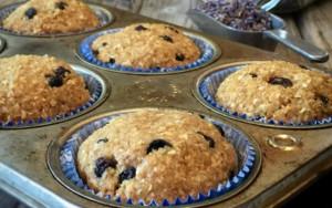 Lavender Blueberry Muffins FTR