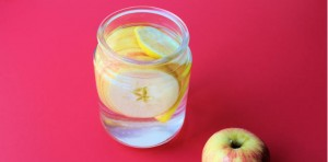 Lemon Ginger Apple Infused Water