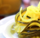 Probiotic Pickled Zucchini