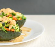 Chipotle-Stuffed Avocado