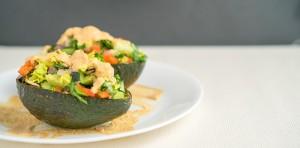 Chipotle Stuffed Avocado