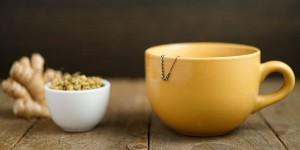 calming ginger chamomile tea
