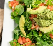 Avocado Pesto Salad