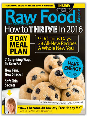 Raw Food Magazine Issue 21