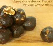 Gingerbread Date Balls: A Protein Rich Snack