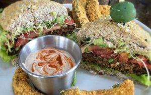 ultimate veggie burger FTR