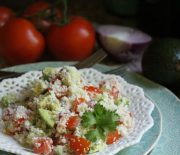 Southwestern Cauliflower Couscous