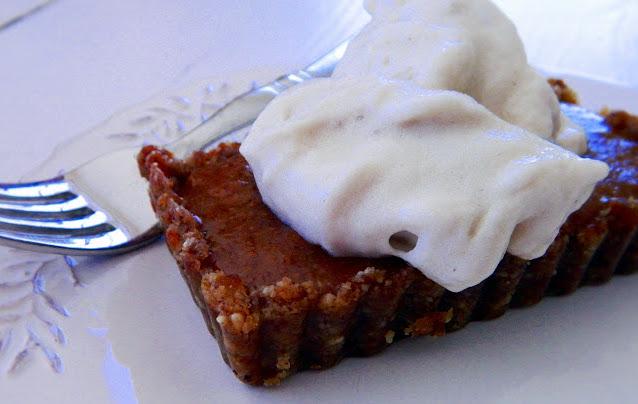 Treacle Tarts with Ice Cream