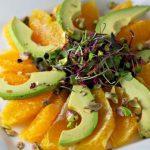 Avocado Orange Sunburst Salad