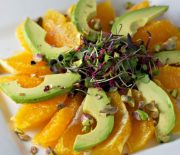 Avocado Orange Sunburst Salad
