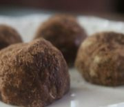 Honey Nut Chocolate Truffles