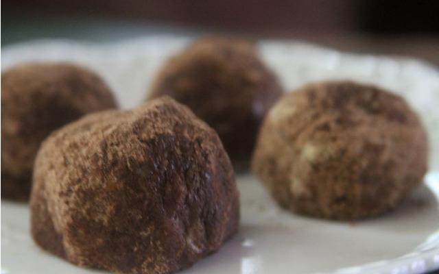 Honey Nut Chocolate Truffles