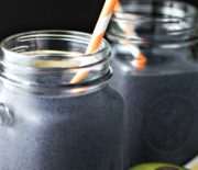 Avocado Blueberry Green Smoothie