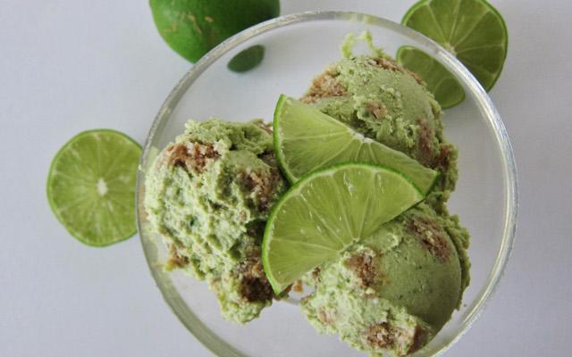 Coconut Key Lime Pie Nice Cream