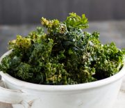 Marinated Miso Kale Chips