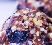 Cherry Almond Truffles