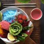 Raw Vegan Rainbow Miso Beet Bowl