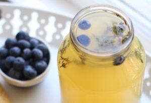 Blueberry Thyme Meyer Lemonade