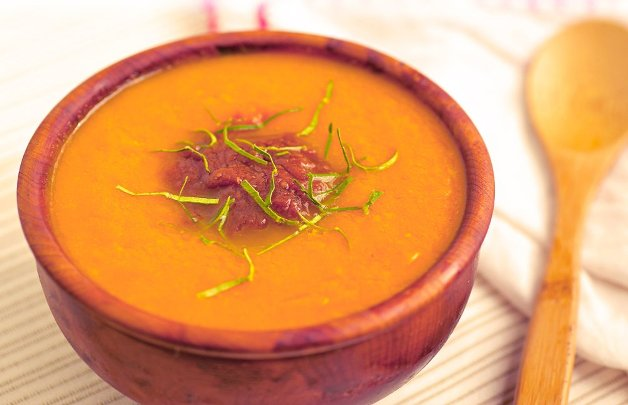 Raw Butternut Squash Soup