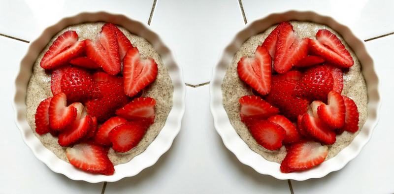 Raw Vegan Flax Seed Pudding