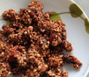 Super Raw Buckwheat Granola