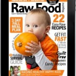 Raw Food Magazine October 2013 Issue Cover