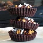 Raw Chocolate Pumpkin Peanut Butter Cups