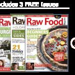 raw food vegan recipes magazine