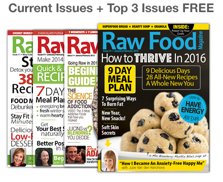 3 Free Raw Food Magazine Issues January 2016
