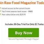 raw food magazine recipes