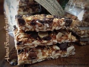 Almond Banana Enery Bars