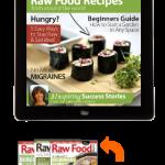 raw food magazine with raw food recipes and vegan recipes
