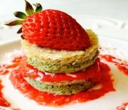 Strawberry Lime Cheesecake Stacks