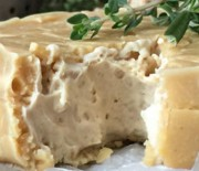 """""""Brie"""" Cashew Cheese Wheel with Rind"""