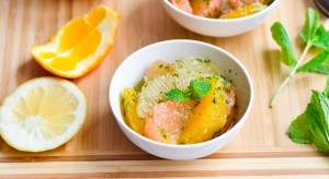Grapefruit Mint Salad FTR